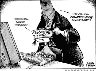 Google china censura